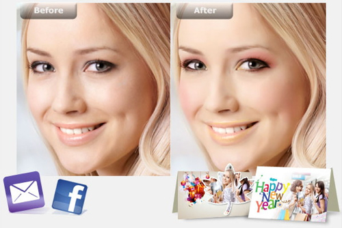 Perfect 365 : la retouche portrait gratuit