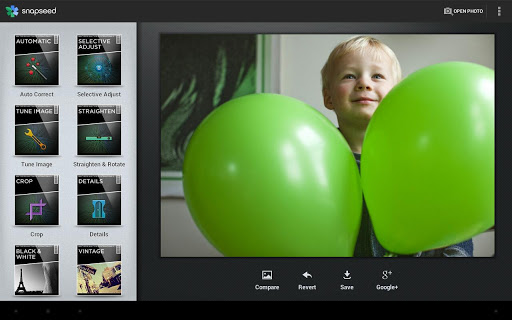 Snapseed : l'application Android de retouche photo pour les photographes