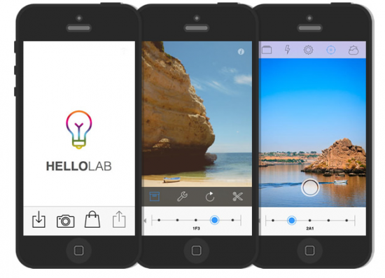 HelloLab : Appli photo pour Iphone et Ipad