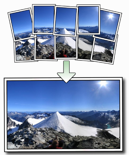 Autostitch panorama : faire des photos panoramiques facilement