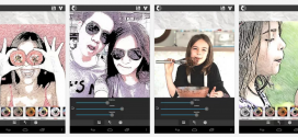 Android : transformer une photo en dessin