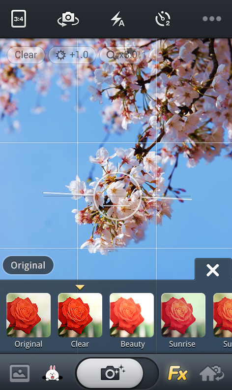 Line Camera pour Android : l'alternative à votre appareil photo